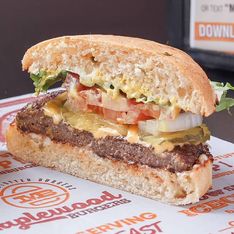 Maplewood Burger Cheeseburger